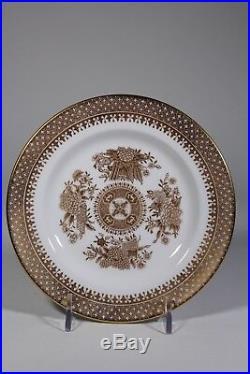 33 Pc Spode Bone China Golden Clipper Dinner Set