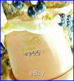 A21 42 Rustie LE Artist Porcelain Doll Victorian Lady Avanti Gold Black Dress
