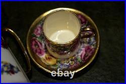 Beautiful Vintage Antique 1930/40 Porcelain China Gilded Tea Set