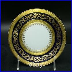 Faberge Verneuil Saucer Limoges Porcelain China 24K Gold Rim