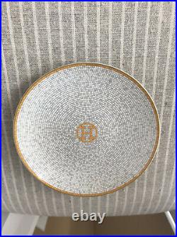 HERMES Mosaique au 24 gold bread & butter plate fine china trusted seller