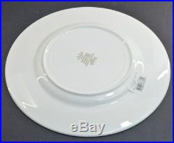 Lenox Dinnerware Federal Gold, Fine Bone China, Accent Plate Letter K, Set of 12
