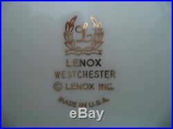 Lenox porcelain china Westchester wide gold trim 8 fruit sauce bowls Presidentia