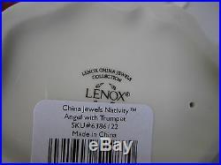 Lot 8 Lenox China Jewels Nativity Figurines Star Porcelain Mary Baby Joseph Gold