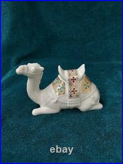 NIB Lenox China Jewels Nativity Lying Kneeling Camel 1994 Porcelain 24K Gold