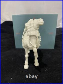 NIB Lenox China Jewels Nativity Standing Camel Porcelain 24K Gold