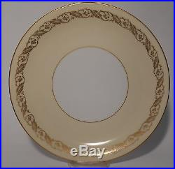 NORITAKE china 5181 GOLD LEAF & BERRY pattern 47-piece SET SERVICE for 10