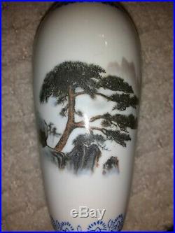 RARE JINGDEZHEN Chinese Gold Eggshell Porcelain Vases SET OF 4 RARE