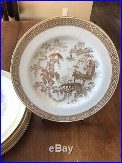 Set (8) SPODE'S GARDEN by Spode China Y7046 Dinner Plate 10