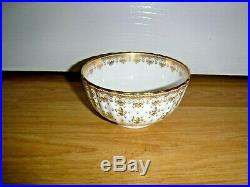 Spode China Fleur De Lys Gold 21 Piece Teaset Including Teapot 1st Excellent
