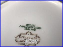 Spode Copeland SHEFFIELD CHINA BREAD & BUTTER CREAM for TIFFANY & Co 6 YGF