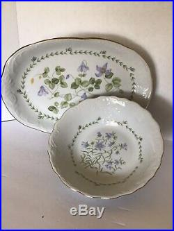 Tienshan Floriade Porcelain Fine China (6 place setting) 35+ Pieces Floral Gold