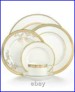 Vera Wang Wedgwood Lace Gold 5-piece Dinnerware Place Setting China