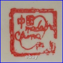 Vintage Chinese Bowl Porcelain Foot Bath Bowl Gold Accents Handpainted Goldfish