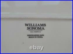 Williams Sonoma Harvest Pumpkin Octagonal Turkey Plater 20 1/4 Gold Alloy