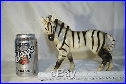 Zebra Figurine Vintage E & R Golden Crown Fine China/Porcelain